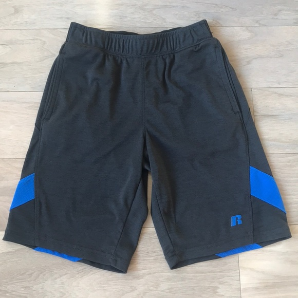 Russell Athletic Other - Russell Boys Black Athletic Shorts Size Age 8